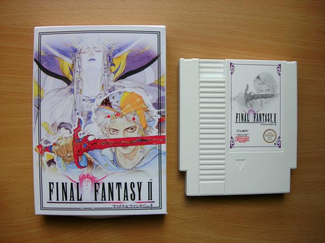 La collect de koga Final_Fantasy_II_Boite_1