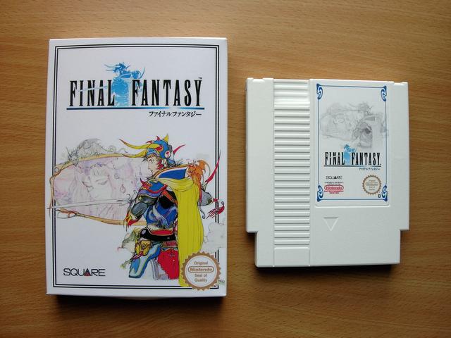 La collect de koga Final_Fantasy_I_Boite_1