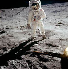 """On"" a marché sur la lune ! ? ! Aldrin_apollo11"