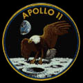 """On"" a marché sur la lune ! ? ! Logo_apollo11"
