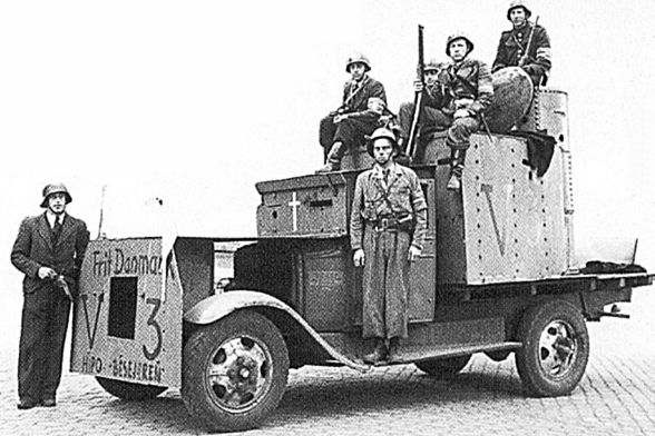 La Résistance au Danemark  194505xx_Hipo_besejeren
