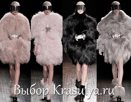 Гардероб наших леді в колекціях fashion дизайнерів - Страница 2 Platya-s-mehom-2012-2013_1