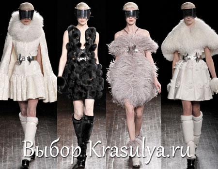 Гардероб наших леді в колекціях fashion дизайнерів - Страница 2 Platya-s-mehom-2012-2013_3