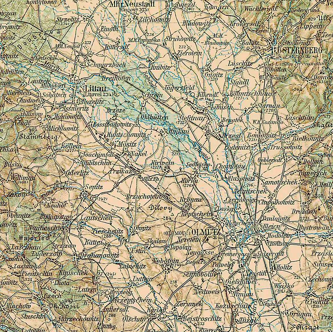 Self edited USA contour - topographical maps Plain_of_Silesian_Olmutz
