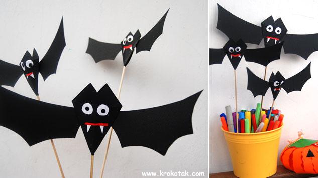 Украса за Хелоуин - вампири! Bat5