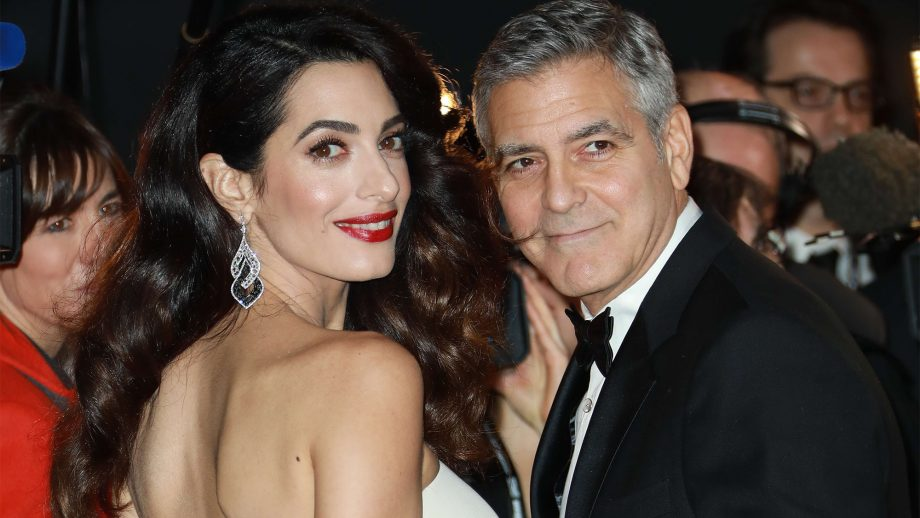"""George Clooney has supposedly installed """"James Bond-worthy"""" security at his home George-amal-clooney-920x518"""