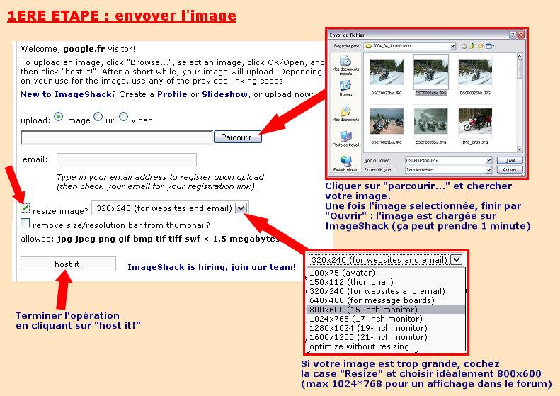 Afficher une image avec ImageShack pour les Nuls Post_image-1ere_etape