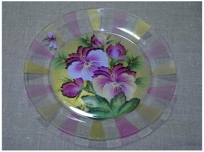 Роспись по стеклу и керамике. Идеи. Gc02