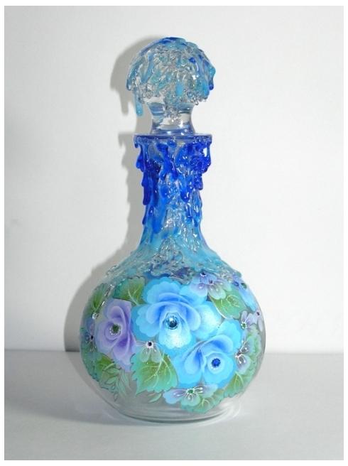 Роспись по стеклу и керамике. Идеи. Gc1601