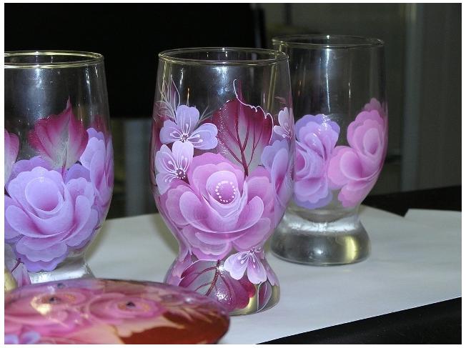 Роспись по стеклу и керамике. Идеи. Gc1701