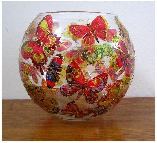 Роспись по стеклу и керамике. Идеи. Gc2001