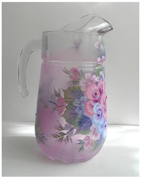 Роспись по стеклу и керамике. Идеи. Gc301