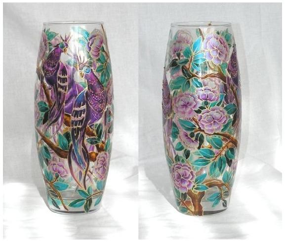 Роспись по стеклу и керамике. Идеи. Gc401