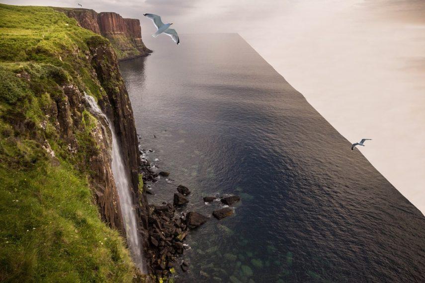 Ljudi žele reality show u kojem ravnozemljaši traže rub Zemlje Rub-Zemlje-Pixabay-e1538331364637