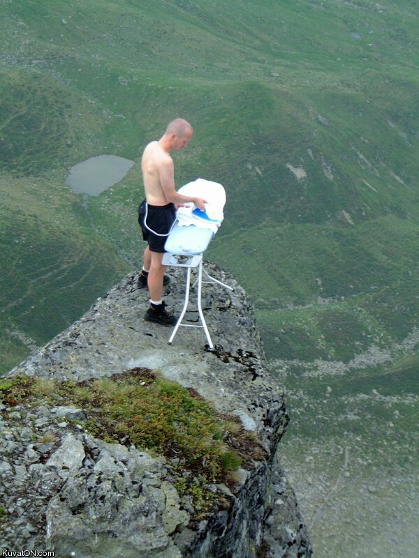L'univers des Geeks - Page 5 Extreme_ironing