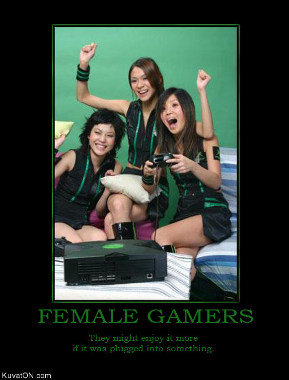 L'univers des Geeks - Page 5 Female_gamers