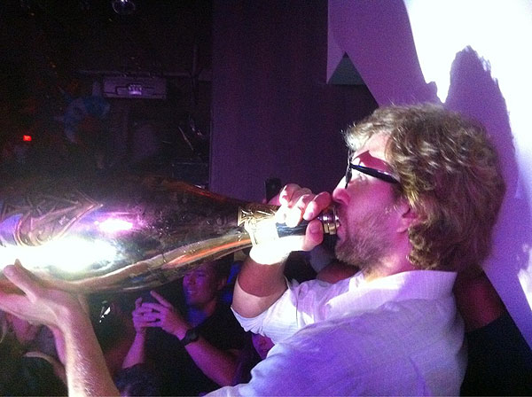 Bustin up Lebron for kicks Dirk_nowitzki_celebrates_his_finals_win_with_a_whole_lotta_champagne