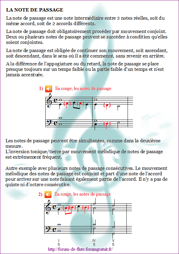 6) La note de passage Note-passage1