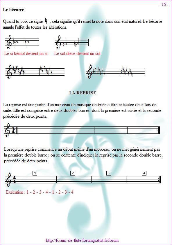 Avant de commencer - Page 1 à 15 Methode-flute-a-bec_page-15_La-reprise