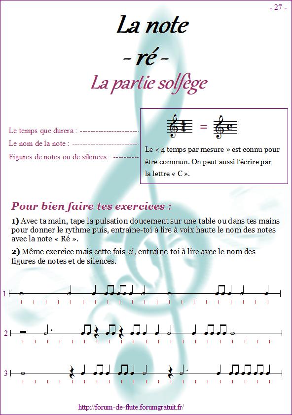Module 2 : Do aigu, Ré aigu, Fa grave - Page 25 à 32 Methode-flute-a-bec_page-27-note_re