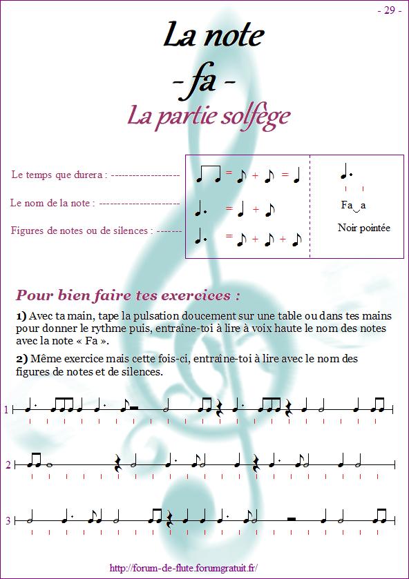 Module 2 : Do aigu, Ré aigu, Fa grave - Page 25 à 32 Methode-flute-a-bec_page-29-note_fa