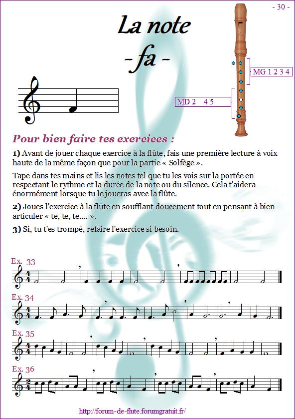 Module 2 : Do aigu, Ré aigu, Fa grave - Page 25 à 32 Methode-flute-a-bec_page-30