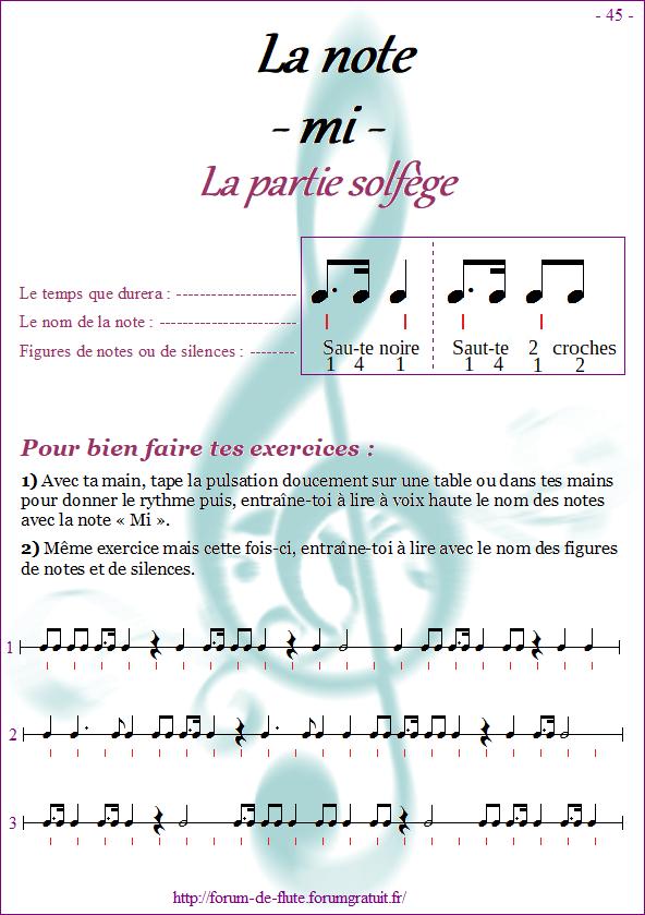 Module 4 : Sib grave, Fa# grave, Mi aigu - Page 41 à 48 Methode-flute-a-bec_page-45-note_mi