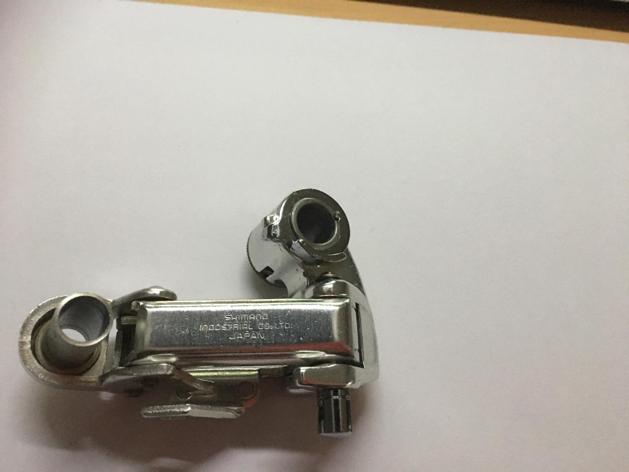 Dérailleur arrière Shimano 600 EX « Arabesque » DerailleurArriereVerso