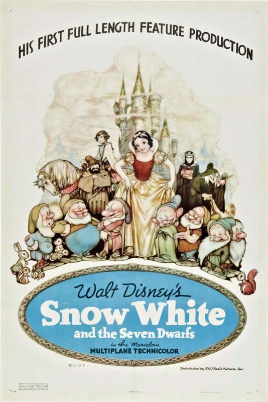 Affichons les affiches - Page 11 1937-Snow-White-Poster-534x800