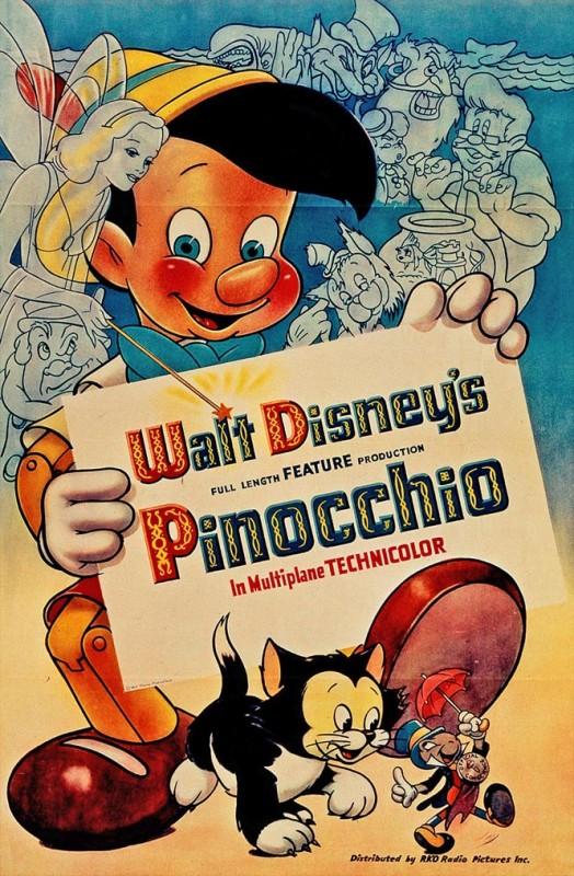 Affichons les affiches - Page 11 1940-Pinocchio-Poster-524x800