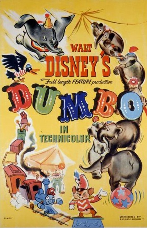 Affichons les affiches - Page 11 1941-Dumbo-Poster-517x800