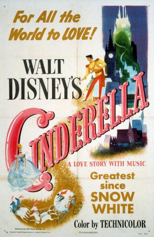 Affichons les affiches - Page 11 1950-Cinderella-Poster-521x800