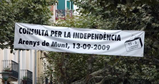 ¿Qué opináis sobre la posible independencia de Cataluña? - Página 36 Arenys_munt_independencia