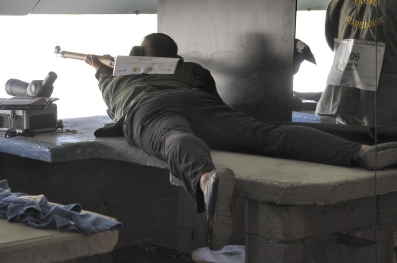 Tables de tir aux Ch France Armes reglementaires Vitrolles  _DSC3652