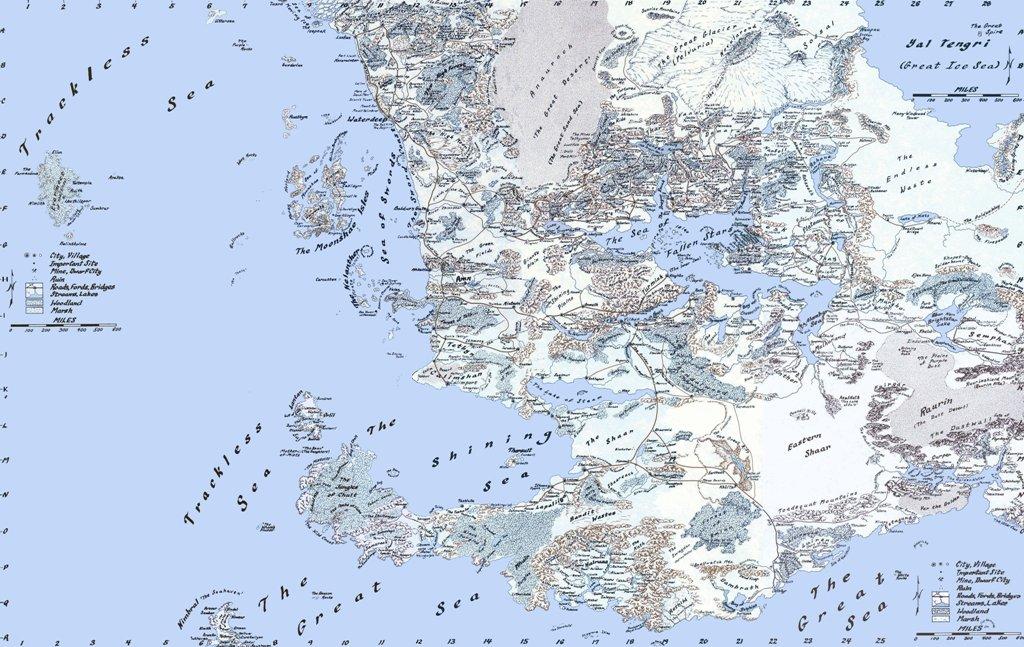 Drizzt Do'Urden Faerun_map