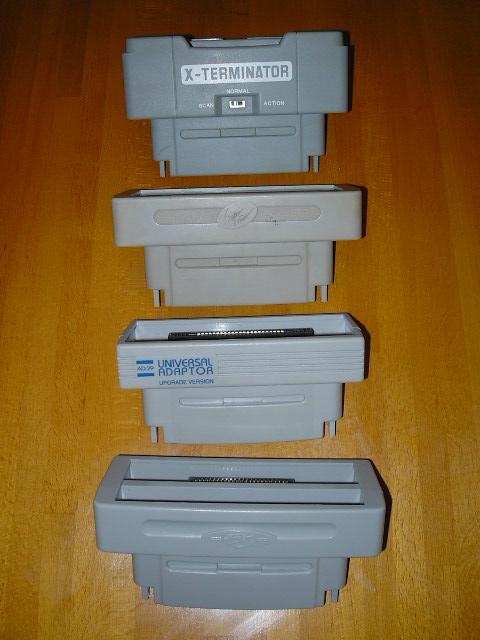 [EST] Evil Twin Dreamcast, Adaptateur AD29 snes et PowerPak Snes Adapt