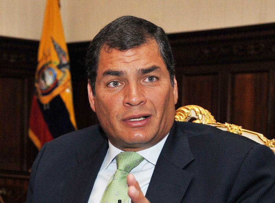 ECUADOR - Etnografía, cultura y mestizaje Rafael-correa