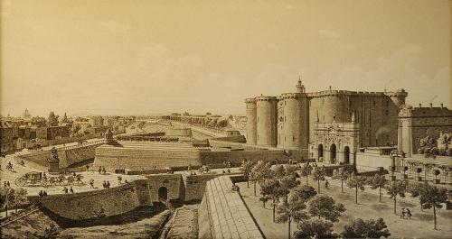 22 avril 1370: Pose de la première pierre de la forteresse de la Bastille. 1508260688