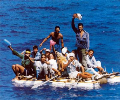 """Dicen que en Cuba... ¿La población cubana """"huye"""" del país?  Balseros-cubanos"""