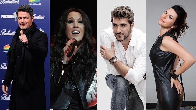 Alejandro Sanz, Laura Pausini, Malú y Orozco, «coaches» de La Voz 2015 Lavoz--644x362