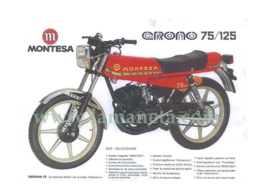 Aquellos maravillosos años. Montesa-Crono-75-125-Catalogo-2287