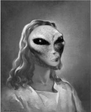 Conte de Noël Alien-jesus