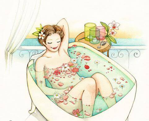En el baño - Página 4 Mujer-en-la-ba%C3%B1era