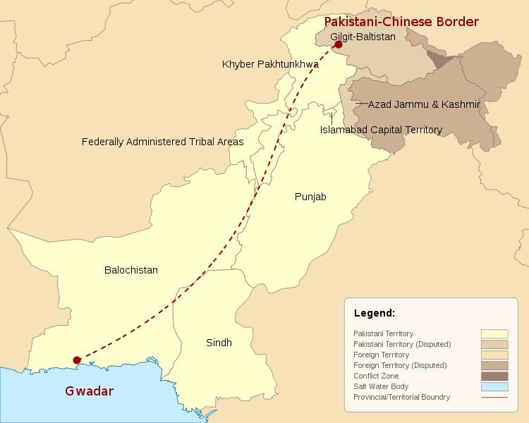 La guerre d'Obama, de Bush, de Clinton pour des PIPELINES! Pakistanmap1