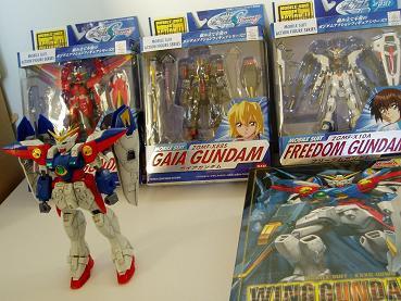 La Yukikollection (Hors Saint Seiya). Gundam