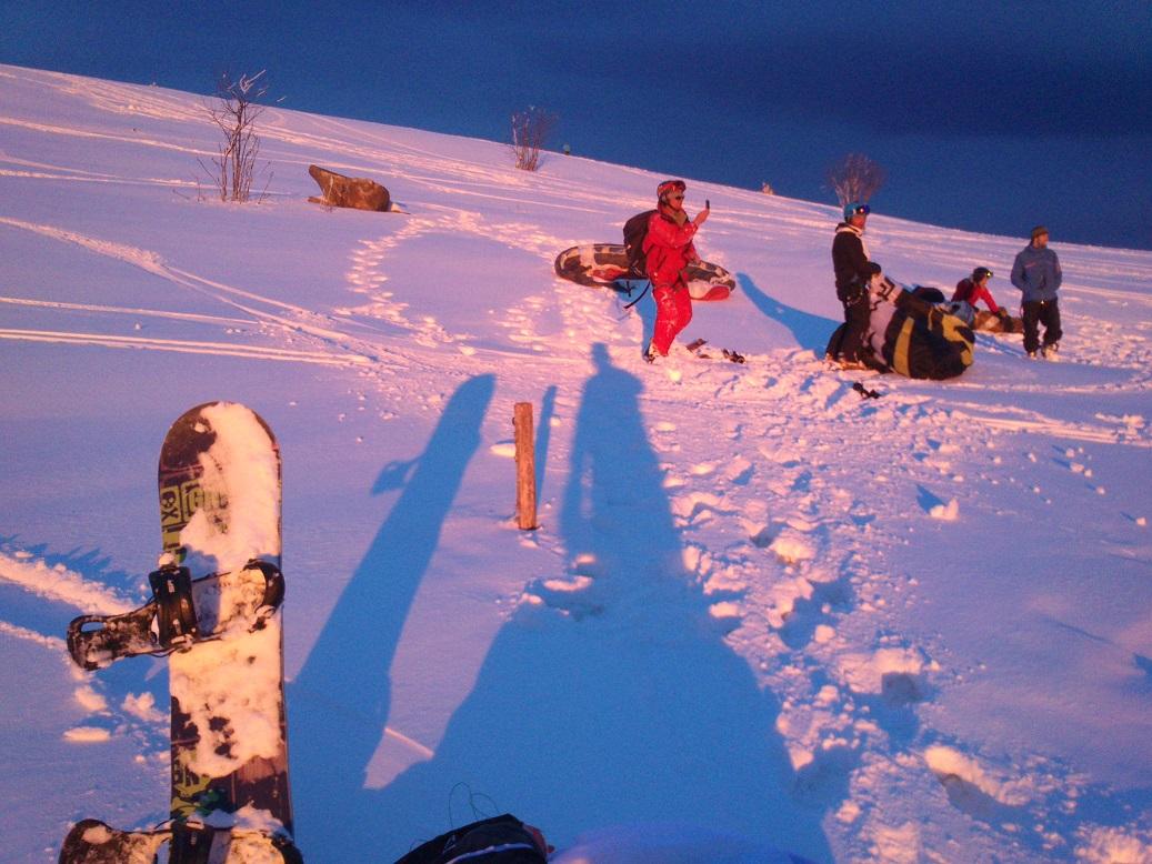Col des Supeyres le 12/02/14 05