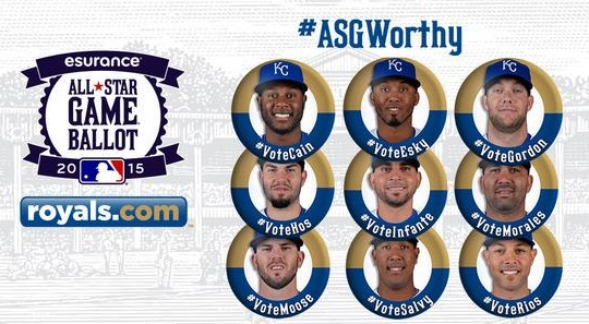 All Star: Reales controlan voto LA Royals-all-stars
