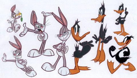 Les Looney Tunes sont de retour ... Looneylineup1