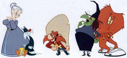 Les Looney Tunes sont de retour ... Looneylineup3
