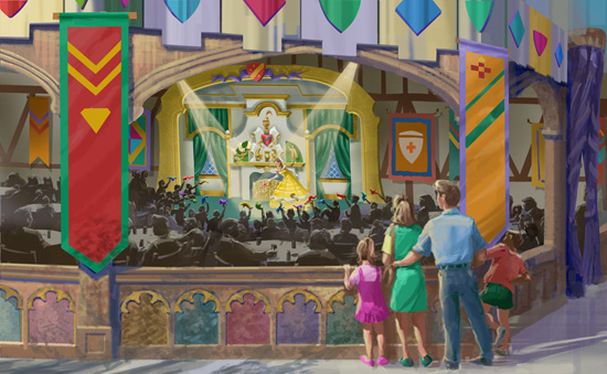 "[Magic Kingdom] New Fantasyland - Castle Courtyard, le ""vieux"" Fantasyland (2012) Stg583343small"